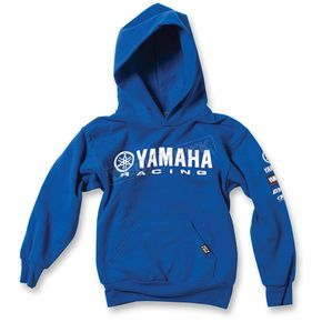 Factory Effex Youth Royal Blue Yamaha Racing Pullover Hoody - 19-83236