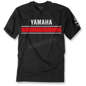 Factory Effex Black Yamaha Retro Premium T-Shirt - 20-87202