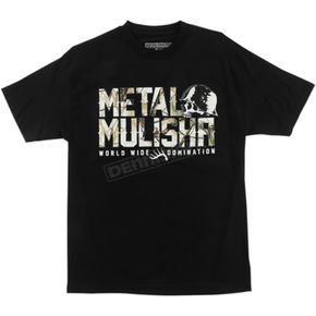 Metal Mulisha Black Realtree Chill T-Shirt  - FA6518005BLKXXL