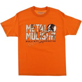 Metal Mulisha Orange Realtree Chill T-Shirt  - FA6518005ORGXL
