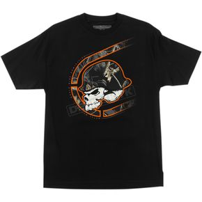 Metal Mulisha Black Realtree Black Out T-Shirt - FA6518011BLKL