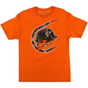 Metal Mulisha Orange Realtree Black Out T-Shirt - FA6518011ORGM
