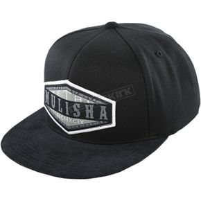 Metal Mulisha Black Match Flexfit Hat - FA6596006BLKL/X