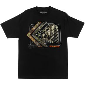 Metal Mulisha Realtree Hidden T-Shirt - FA6518020BLKXXL