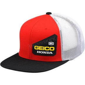 100% Geico Honda Bond Trucker Hat - 20901-003-01