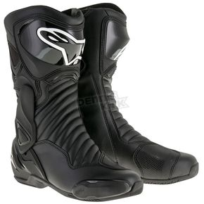 Alpinestars Black S-MX 6 V2 Boots - 2223017-1100-48
