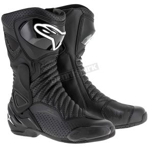 Alpinestars Black/Black SMX 6 V2 Vented Boot - 2223017-1102-44