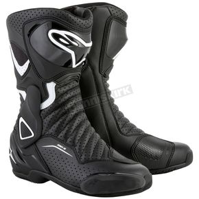 Alpinestars Black/White Stella SMX-6 v2 Women's Vented Boot - 2223117-122-40