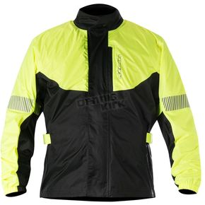 Alpinestars Fluorescent Yellow/Black Hurricane Rain Jacket  - 3204617-551-S