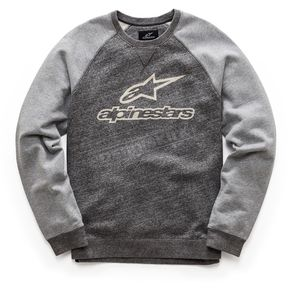 Alpinestars Charcoal Heather Pace Fleece Sweatshirt  - 101752002191B2X