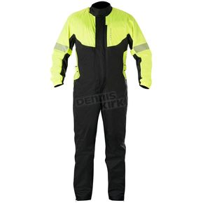 Alpinestars Fluorescent Yellow/Black Hurricane Rain Suit  - 3264617-551-S