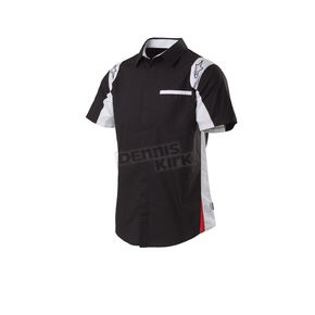 Alpinestars Black Sao Paolo Short Sleeve Woven Shirt - 101532005-10-S
