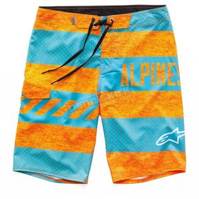 Alpinestars Orange Insignia Boardshorts - 101724003-40-32