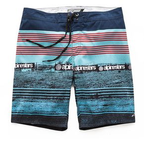 Alpinestars Blue Chicaneless Swim Trunk - 101724013-72-32