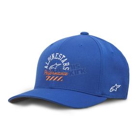 Alpinestars Royal Blue Empire Curve Hat - 10178100479SM