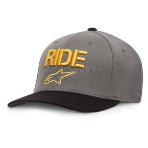 Alpinestars Charcoal Ride Curve Hat  - 10178100818LX