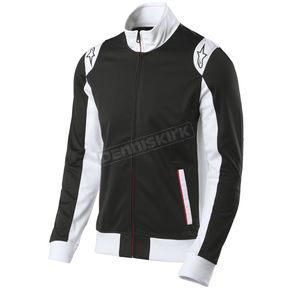 Alpinestars Black Spa Track Jacket  - 101511006-10-M