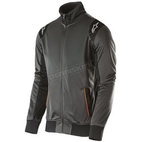 Alpinestars Charcoal Spa Track Jacket  - 101511006-18-2X