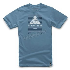 Alpinestars Slate Blue Awakens T-Shirt - 101772010734-L