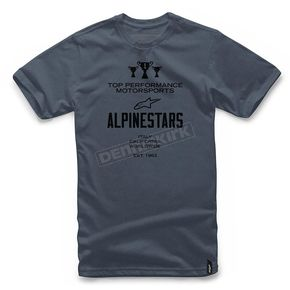 Alpinestars Navy Heather Worldwide T-Shirt  - 1017720127000XL