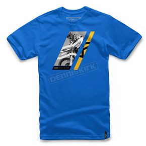 Alpinestars Royal Blue T-Shirt  - 101772021-79-M