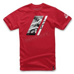 Alpinestars Red Section 2 T-Shirt  - 101772021-30-2X