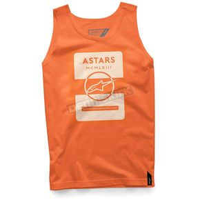Alpinestars Orange Kar Tank - 101774005-40-2X