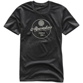 Alpinestars Black Decal T-Shirt - 101773211-10-M