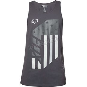Fox Black Red,White And True Premium Tank - 19224-001-XL