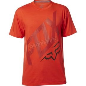 Fox Flame Red Closed Circuit Tech T-Shirt - 18837-122-L