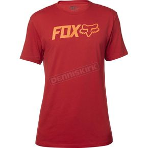 Fox Cranberry Watchful Premium T-Shirt - 19467-527-S