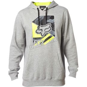 Fox Heather Gray Geo Cube Pullover Hoody - 19216-040-M