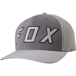 Fox Light Gray Watchful FlexFit Hat - 19193-097-L/XL