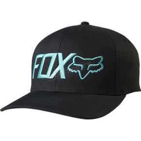 Fox Black/Green Draper FlexFit Hat - 18734-151-L/XL