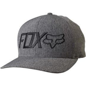 Fox Heather Graphite Draper FlexFit Hat - 18734-185-S/M