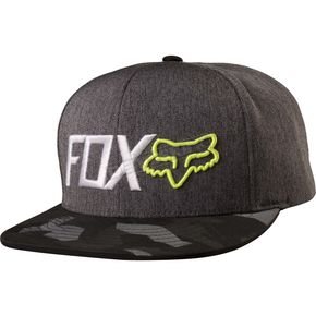 Fox Black Obsessed Snapback Hat - 19199-001-OS