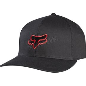 Fox Black/Red  Legacy FlexFit Hat - 58225-017-L/XL