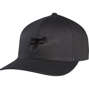 Fox  Black Legacy FlexFit Hat - 58225-021-L/XL