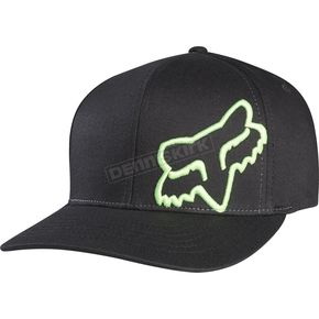 Fox Black/Green Flex 45 FlexFit Hat - 58379-151-S/M