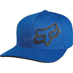 Fox Blue Signature FlexFit Hat - 68073-002-S/M