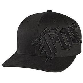 Fox Black New Generation FlexFit Hat - 58382-001-L/XL