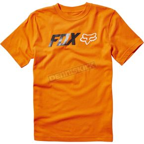 Fox Youth Orange Obsessed T-Shirt - 19889-009-YS