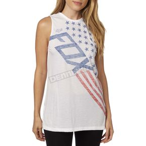 Fox Women's Red, White and True Tank - 19165-008-S