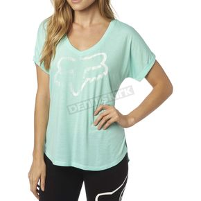 Fox Women's H2O Responded V-Neck T-Shirt - 18566-438-XS