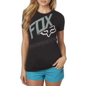 Fox Women's Black Closed Circuit T-Shirt - 19171-001-XL
