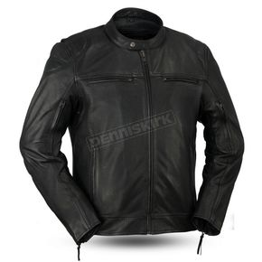 Black Top Performer Leather Jacket