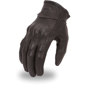 First Manufacturing Co. Black FI134GL Gloves - FI-134-GL-2X