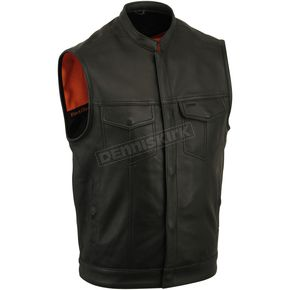 First Manufacturing Co. Black Sharp Shooter Vest - FIM-689-NOC-XL