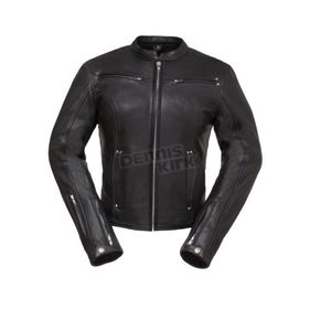 Women's Black Speed Queen Leather Jacket - FIL-158-CLMZ-S
