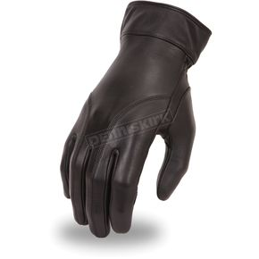 Women's Black FI114GEL Gloves - FI-114-GEL-L